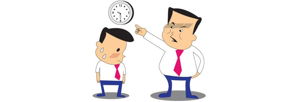 late coming in the workplace Punctuality is a wonderful trait of a person, one to be admired and respected punctuality displays a person's respect for people and time in a scheduled appointment, the late-comer usually.